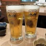 げん家 - 生ビール
