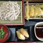 隈屋 - 料理写真:天ざるセット=730円