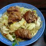 福屋 - ソーキ野菜そば(¥1000)