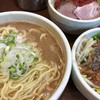 Mendokoroisshou - 料理写真:ラーメン大盛り(トマベジ)900円+追い野菜(ブラベジ)100円