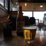 炭焼き ミンナミ食堂 - キリン一番搾り中瓶