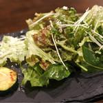 低糖質食専門店 ローカーボキッチン 然 - ランチのサラダ