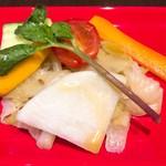 69757731 - 有機野菜のマリネ
