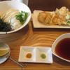 讃岐うどん いってつ - 料理写真:淡路鶏のとり天ぶっかけ
