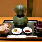 一福庵 - ひさご弁当(1620円)