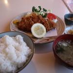 かつれつ庵 - ロースかつ定食