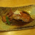 わらべ菜魚洞 - 金目鯛煮付(単品)