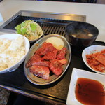焼肉大園 - ランチの焼き肉定食