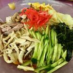 光林坊 - 料理写真:冷やしラーメン醤油