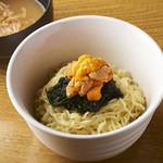 保月 - 雲丹つけ麺