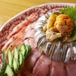 保月 - 寿司ケーキ
