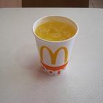 マクドナルド - 「ミニッツメイドオレンジ」です。