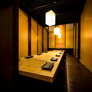 新橋最大級の個室空間