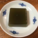文の助茶屋 - 抹茶わらび餅
