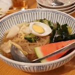炭焼 金竜山 - 冷麺