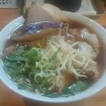俺系らーめん 藤本 - わんたん麺900円
