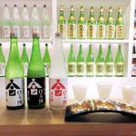 69767962 - 月の桂 大極上中汲にごり酒(醸造〜大吟醸の3種)1680円