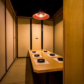 ■ぬくもりの灯…扉付完全個室■