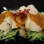 バッハ - 鶏バンバンジー 520円