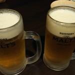 バッハ - 生ビール 180円