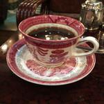 古城 - モーニングのブレンドコーヒー