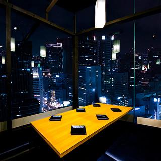 上野で注目の創作和食と完全個室空間