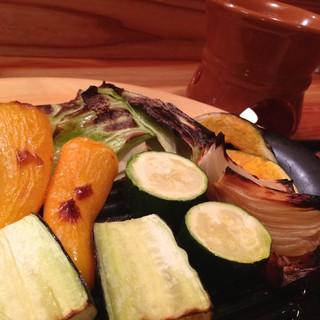 窯焼きだから引き出せる、野菜本来の美味しさを堪能♪