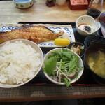 焼鳥居酒屋 風神雷神 - 焼き魚定食でございます
