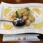 海鮮広東料理 中華料理 昌園 - 海老マヨネーズ¥1800とられていた