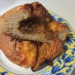 パン工房 Nohmi - 牛ひき肉をたっぷり使ったスパイシーなキーマカレーを入れて焼き上げたパンです。