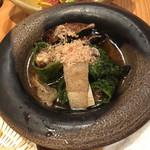 立呑みもんぞう - 甘長唐辛子と椎茸の焼き浸し