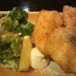 旬の魚と旨い地鶏 魚鶏屋 - 真鱈のフライ(680円)