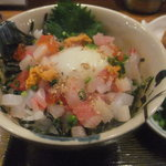 魚処 波乗り三太 - 海鮮丼