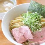 竹麺亭 - 鶏白湯つけ麺(300g)