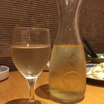 竹乃屋 - ハウスワイン(白)