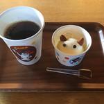 たまカフェ - たまのアフォガート 550円