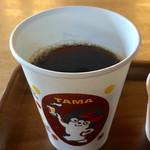 たまカフェ - アツアツのコーシー