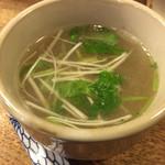 鳥富久 - スープ