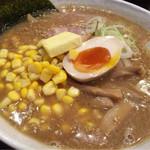 小樽美食坊 大連食堂 - 味噌バターコーンラーメン 1200円