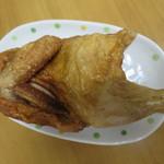 小樽なると屋 - 若鶏半身揚げ 980円(2017年7月)