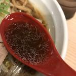 拉麺 大公 - 【2017.6.21】焦がし醤油の重厚感あるスープ。