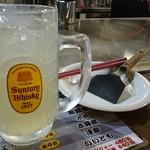 電光石火 - 角ハイ広島レモンで戦闘準備♪