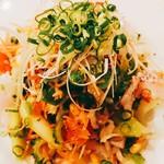 キャラバン - 真鯛のカルパッチョサラダ