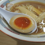 煮干鰮らーめん 圓 - 味玉
