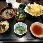 花満円 - 料理写真:色々オカズあってお得