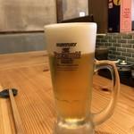 焼とり いぶし坐 - 生ビール!