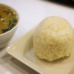 クゥーチャイ - グリーンカレー<ランチ>ムッチリもち米です