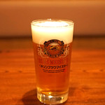 讃岐うどん 蔵之介 - 生ビール