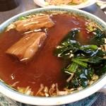 中国料理 你好 - 【2017.7.9(日)】牛肉そば(豚肉角煮麺)850円