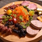 carnegico - 前菜の盛り合わせ